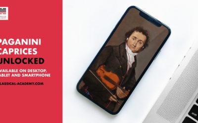 Paganini Caprices Unlocked with Pavel Berman