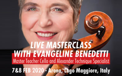 Cello Masterclass Evangeline Benedetti Arona, Italy